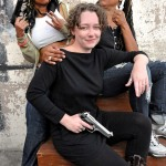 (l-r) Producer Nefertiti Lovelace, Producer Keri Smith-Esguia, Executive Producer Daresha Kyi
