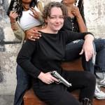 (l-r) Producer Nefertiti Lovelace, Producer Keri Smith-Esguia, Executive Producer Daresha Kyi