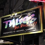 """Thugs, The Musical"" marquee at The Complex in Hollywood"